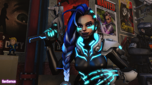 Sombra's Been Here All Along by GenSamus