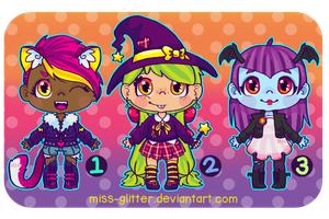 Adopts~Halloween [closed!] by Miss-Glitter