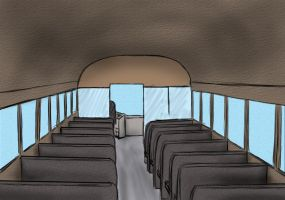 First time done bus from inside by 4Fumiaki4