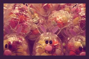Easter Candy Bunny by C-Natalie
