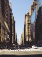 it is easy to be small in NYC by iyo-yo