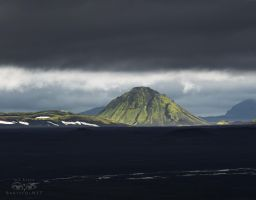 Lonely Mountain - Iceland by Bakisto