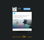 Tweet Design (Freebie) by UJz
