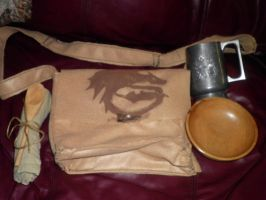 Hiccup's Satchel by Drenched-Rat
