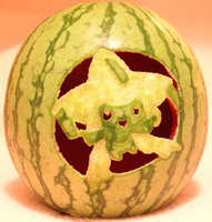 Jirachi Watermelon Light shot by johwee