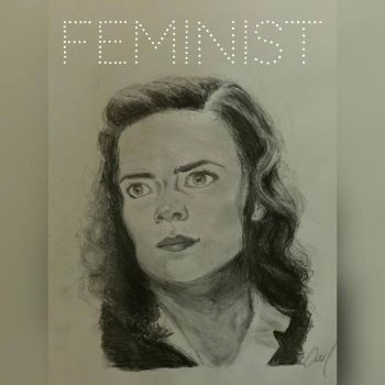 Agent Carter - Feminist by A-Parliament-Of-Owls