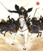 Masamune's charge by neilbruce