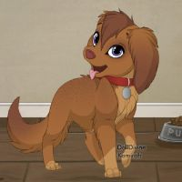 Puppy :3 by MiAmoure