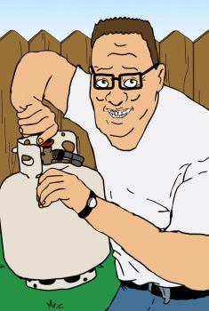 King of the Hill X Ainsley Harriott mashup by jared811111