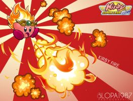 Kirby Fire by Blopa1987