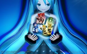 Windows 7 Vocaloid Wallpaper by fahmi4869