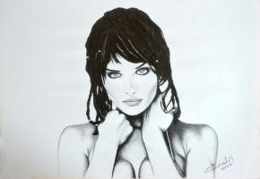 Helena Christensen by kralis-dm