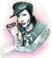 Okay, let's die... [Marilyn Manson] by AS-Fox