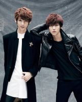 Youngmin and Kwangmin comeback concept by ambieshinee
