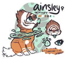 ainsley ref by ChinZaPep