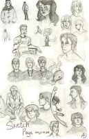 A smattering of busts by TheHauntedBoy