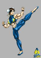 Chun Li Finished by AlphaCentaurian