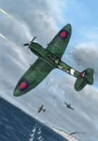 """Battle of Britain 1"" colour by grievous15"