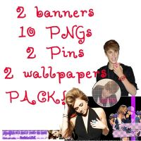 Pack Png : Jiley. Miley - Justin by KimmySun