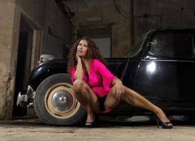 hot wheels and spread legs by MarcBergmann