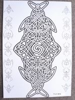 Celtic spiral knot by MozDynamite