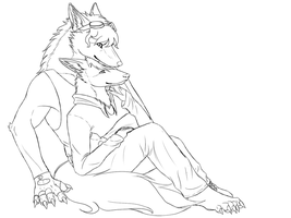 COMM: Folfsky101 4:5 WIP by MagicallyCapricious