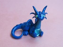 Topaz Heart Dragon No. 4 by DragonsAndBeasties