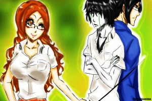 Love Triangle by Pamianime