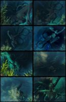 Underwater Scare (1/2) by BL65