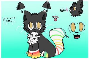 Aiko Reference Sheet by chocoIate