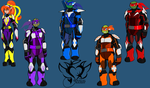 Tmnt Space Cyber Armor by AngelRaiRay