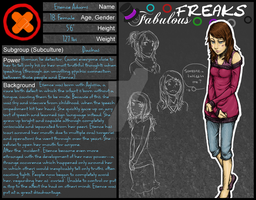 FF Character sheet - Essence by squirrely-chan