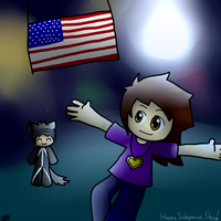 Happy Independence Day 2013! by Xinaug