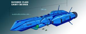 ROBOTECH: Banshee Light Cruiser by LeElf