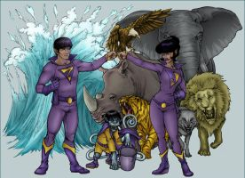 Wonder Twins - 2008 by Killerbee-Kreations