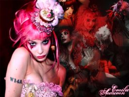 Wallpaper Emilie autumn by ladycornicula