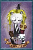 Lenore and friends by Byauntukan