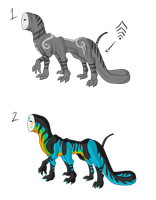 Six Legged Freak Adopts - SOLD by ShadowInkAdopts