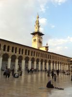 Umayyad mosque 4 by calligrafer