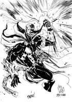 Sketchbook Sketch 2013: Spawn! by alessandromicelli
