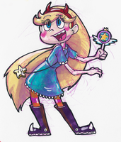 Star Butterfly by little-ampharos