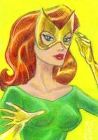 Jean Grey Marvel Girl 1968 by LEXLOTHOR