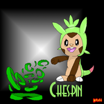 Chespin by Dawnfire2025