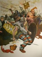 Celtic Warriors by pegasusandco