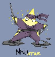 Ninja Star by Cannibal-Cartoonist