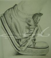Converse-Pencil by MissMachineArt