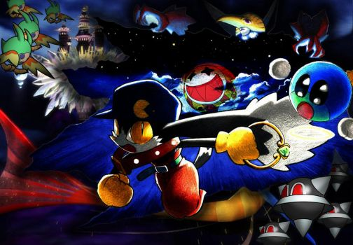 Klonoa: Door to Phantomile Collage by ParatuelVenatir