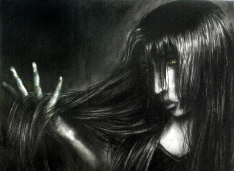 Charcoal Hair by fantasy-or-reality