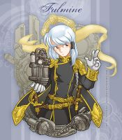 Steampunk: Fulmine by juzo-kun