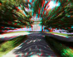 3D anaglyph speed by gogu1234